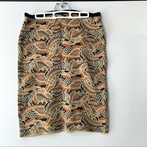 Anthropology Sparrow sweater skirt
